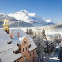 Parkhotel Margna Superior, hotel in Sils Maria