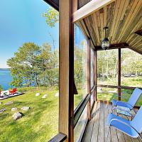 New Listing! Waterfront Paradise W/ Dock & Views Cottage