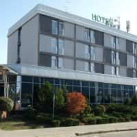 Hotel Podravina, отель в городе Копривница