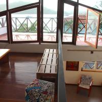 CASA DINIS - Top terrace view - con vistas a la Bahia de Portobelo, hotel en Portobelo