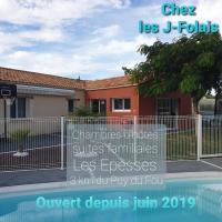 """Chez les """"J""""-Folais, hotel in Les Épesses"""
