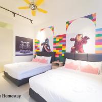 Pangsapuri Meridian @ JB City Homestay