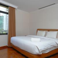 Modern and Spacious 2BR at Kusuma Chandra Apartment By Travelio