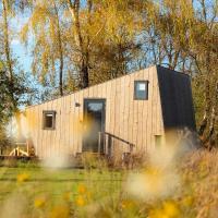Duurzaam Tinyhouse aan het water in Friesland