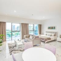DHH - Modern & Large Studio in the Business District of Dubai DIFC