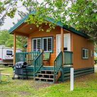 Long Beach Camping Resort Studio Cabin 5