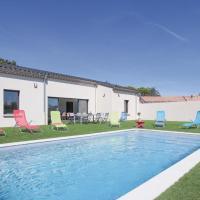 Stunning home in Portes en Valdaine w/ Outdoor swimming pool, Outdoor swimming pool and 4 Bedrooms
