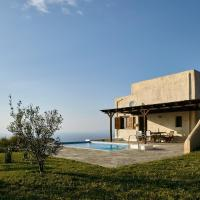 The Pool Garden House with a fantastic sea and sunset view, only 5 minutes from Ioulida