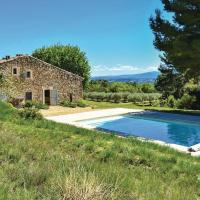Nice home in Cucuron w/ Outdoor swimming pool, WiFi and Outdoor swimming pool