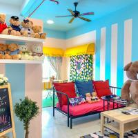Manhattan Teddy Bear Suite by Nest Home at Austin Heights