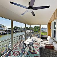 Canal-Side Condo with Private Dock, Boats & Bikes Duplex
