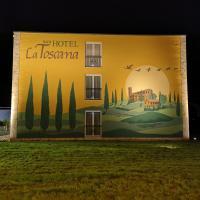 Hotel La Toscana Nähe Europapark, hotel en Ringsheim