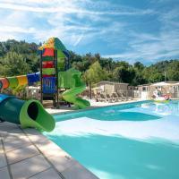 Camping Le Parc des Monges,斯涅河畔奧日布的飯店