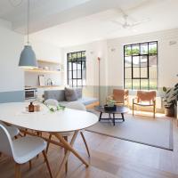 Stylish, Industrial Studio with Sunlit Interiors