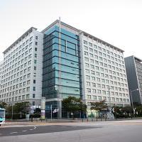 Incheon Airport Capsule Hotel Goodstay Inn, hotel perto de Aeroporto Internacional de Incheon - ICN, Incheon