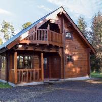 Roe Deer Log Cabin