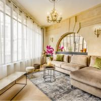Luxury 6 Bedroom 5 bathroom Palace Apartment - AC - Louvre View