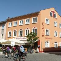 Cafe am Donautor, hotel u gradu Kelhajm