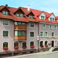 Hotel Restaurant Zum Hirschen, отель в городе Донауэшинген