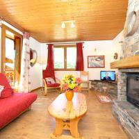 Appartement de 2 chambres a Les menuires avec magnifique vue sur la montagne terrasse et WiFi a 600 m des pistes