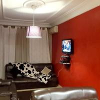 Apartment with one bedroom in Casablanca with wonderful city view balcony and WiFi 5 km from the beach