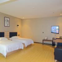 Thank Inn Plus Hotel Shandong Taian Taishan District Railway Station International Exhibition Center, отель в городе Тайань