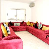 Apartment with 2 bedrooms in Casablanca, with wonderful city view, terrace and WiFi - 10 km from the beach, hotel in Casablanca