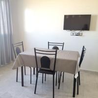 Apartment with one bedroom in El Mansouriya, with wonderful sea view, shared pool and balcony