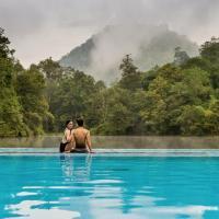Home Phutoey River Kwai Hotspring & Nature Resort - SHA Certified, hotel in Sai Yok