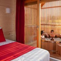 Les Lodges de la ViaRhôna / cabane-spa