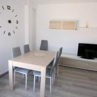 Apartment with 3 bedrooms in Benetuser with wonderful city view and WiFi