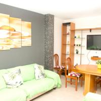 Apartment with 3 bedrooms in Garrucha with wonderful sea view and terrace 200 m from the beach