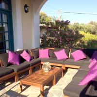 Villa with 5 bedrooms in Limnos Chios island with wonderful sea view enclosed garden and WiFi 250 m from the beach, ξενοδοχείο στη Λήμνο