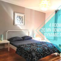 Barry 4 Bedroom Apartment Côte-des-Neiges 20 mins to Downtown