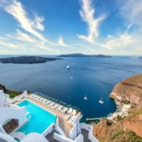 Athina Luxury Suites, hotel in Fira