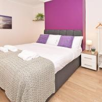 Lockdown accommodation - Contractors, Key Staff, 3 doubles, 1 single, 2 bathrooms, Central Crewe