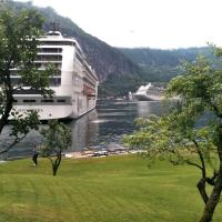 Fjorden Campinghytter, hotell i Geiranger