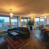 Brussels By Night luxe appartement for 2 to 5 with 270° panorama
