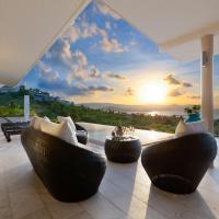 Samui Sunsets Luxury Villas, hotell i Koh Samui