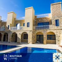 Fiftyfour West Boutique Living, hotel in Għarb