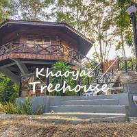 Hidden Treehouse in Khao Yai (8 PAX), hotel in Nong Nam Daeng