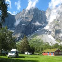 Trollveggen Camping, hotel in Åndalsnes