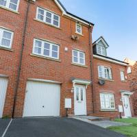 Spacious Contractor House for Large Groups - Private Parking by Liverpool Short Stay