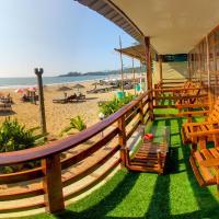 Sea Front Beach Huts, hotel in Patnem