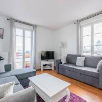 Smart apartment Val d'Europe 7/9 pers, hôtel à Chessy