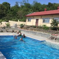 The poolhouse at McKirdy's mango farm
