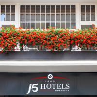 J5 Hotels Helvetie & La Brasserie, hotel in Montreux