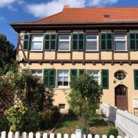 Ferienwohnung Rosenblick, отель в городе Бад-Лангензальца