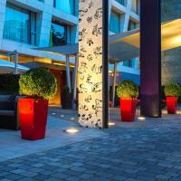 Radisson Blu Media Harbour Hotel, Düsseldorf, hotel in Düsseldorf
