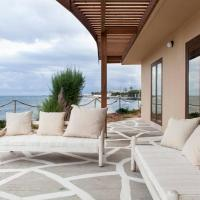 Lena Villa Seafront 5 Bedrooms 14 PAX · Kouvohori Villas Crete, hotel in Gournes